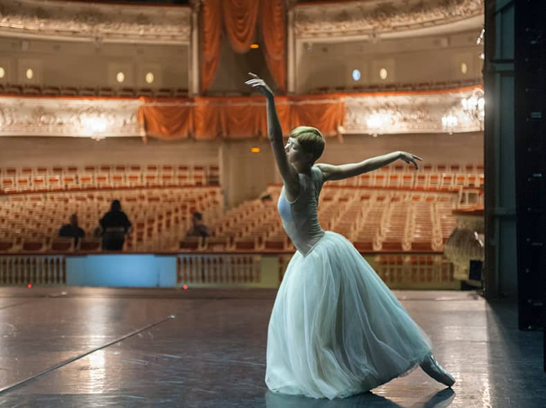 Go behind the scenes at a prestigious ballet academy.