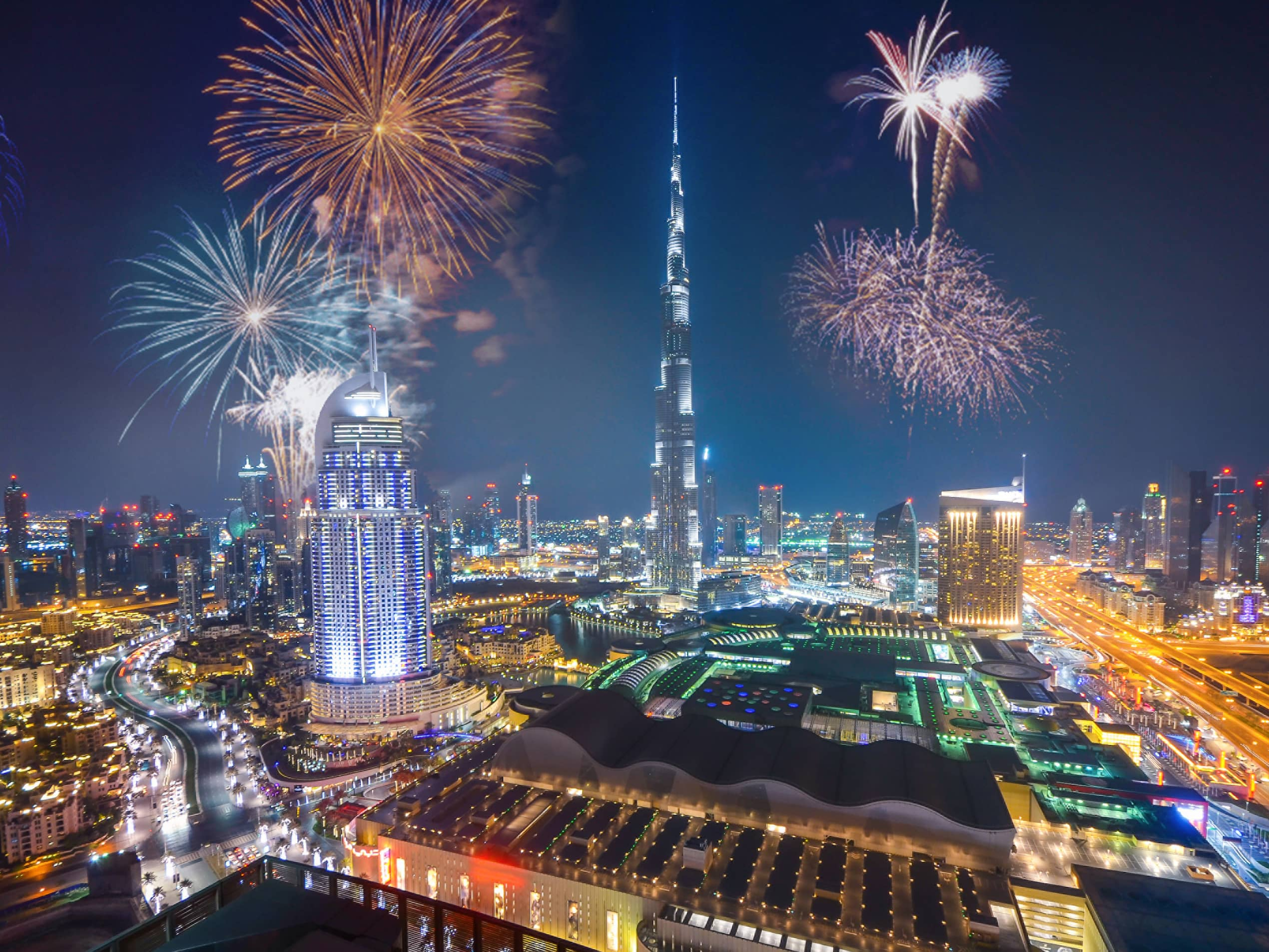 Make 2021 a Year to Remember at a New Year's Eve Party in Dubai