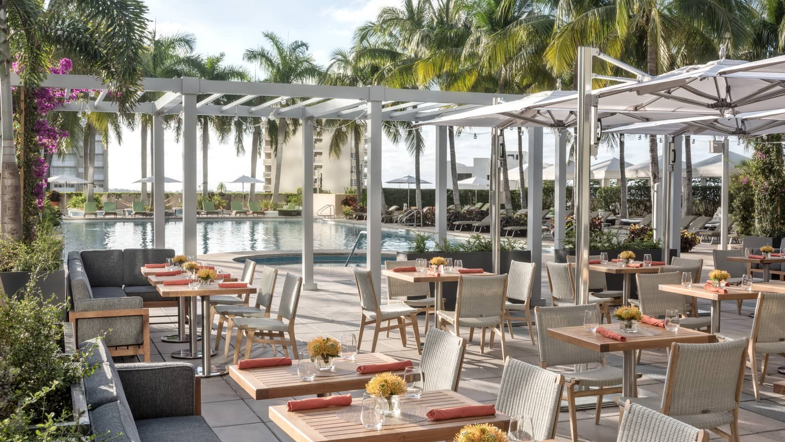 Miami Restaurats Fine Dining Four Seasons Hotel Miami