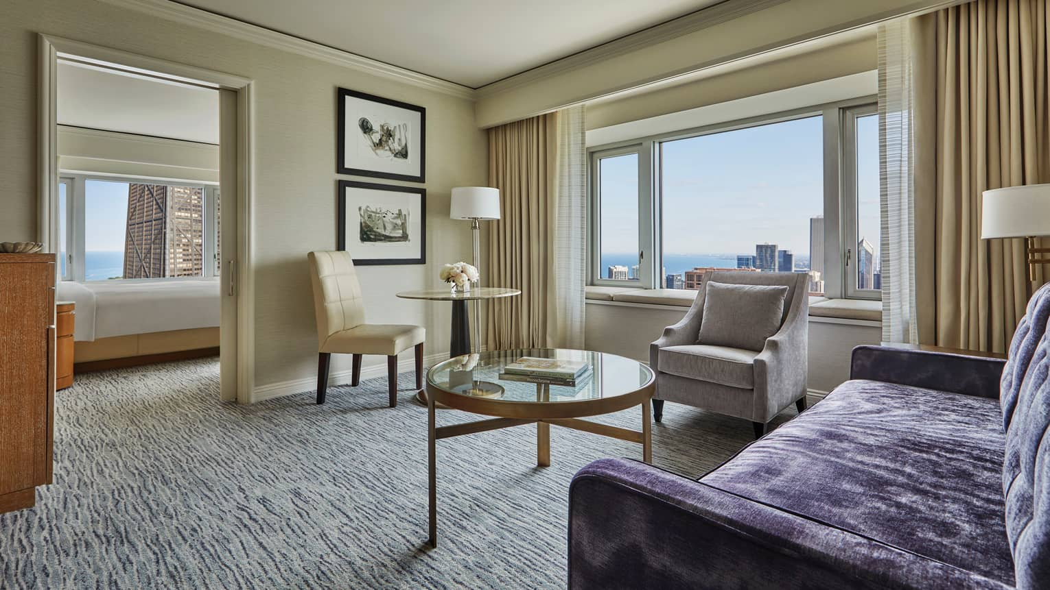 Outstanding Luxury Hotel Rooms Suites Chicago Downtown Four Seasons Download Free Architecture Designs Philgrimeyleaguecom