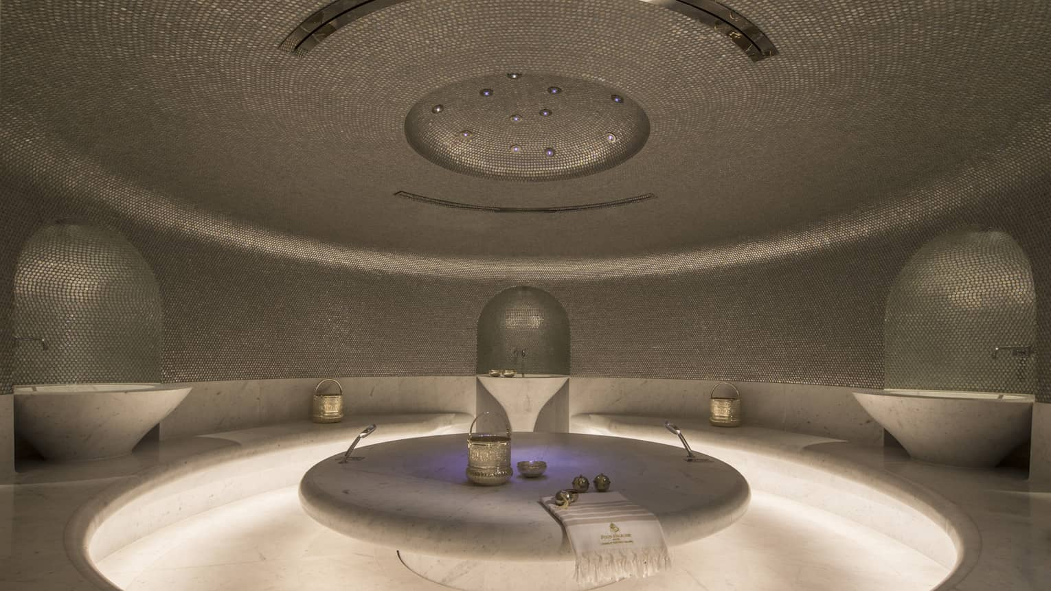 Hammam treatment room