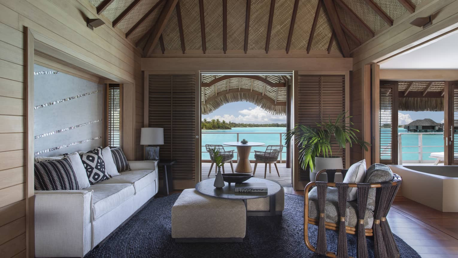 One-Bedroom Overwater Suite with Plunge Pool