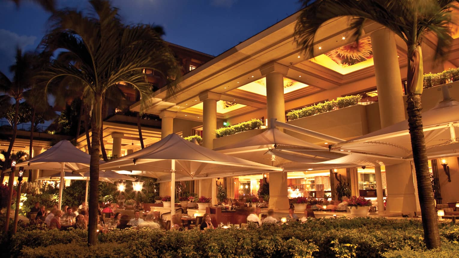 Miraculous Wailea Restaurants Fine Dining Hawaii Four Seasons Interior Design Ideas Tzicisoteloinfo