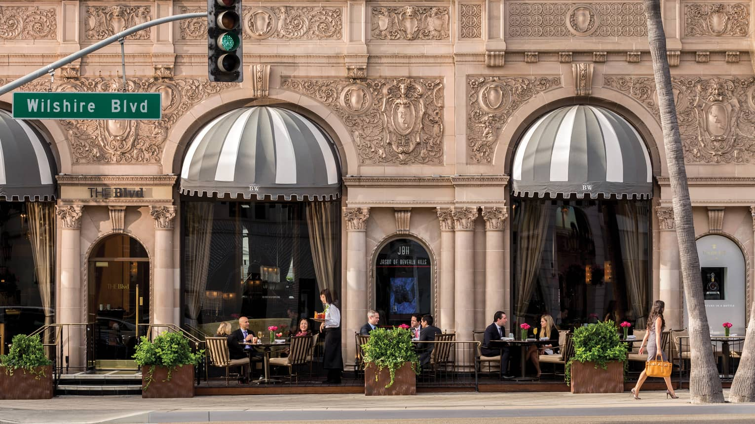 Beverly Hills Restaurants Fine Dining Beverly Wilshire Hotel