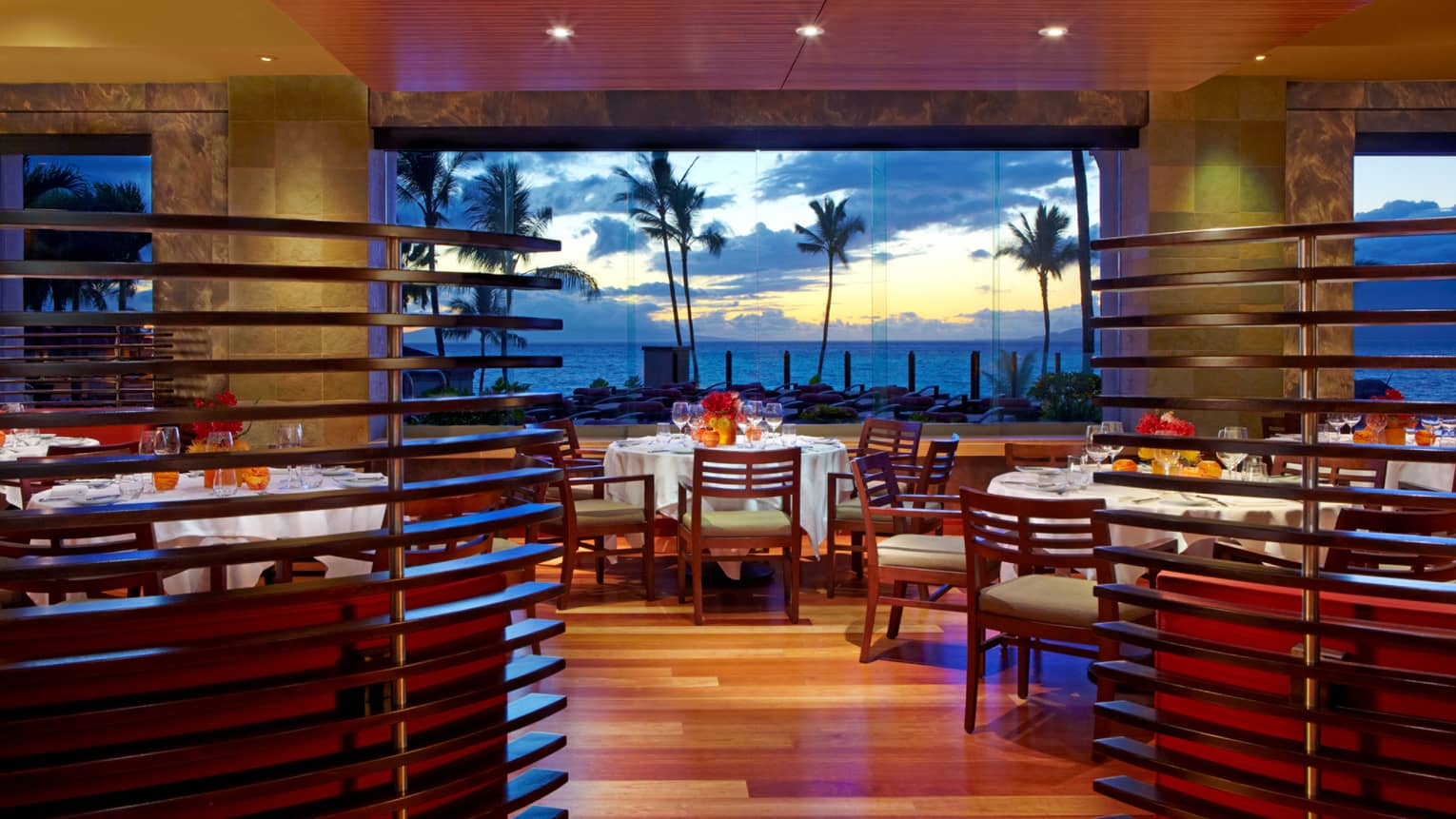 Sensational Wailea Restaurants Fine Dining Hawaii Four Seasons Interior Design Ideas Tzicisoteloinfo