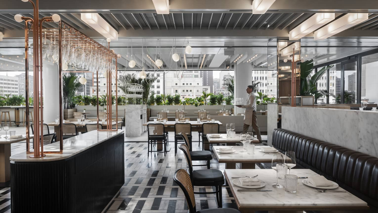 MARCUS Restaurant + Terrace at Four Seasons Hotel Montreal