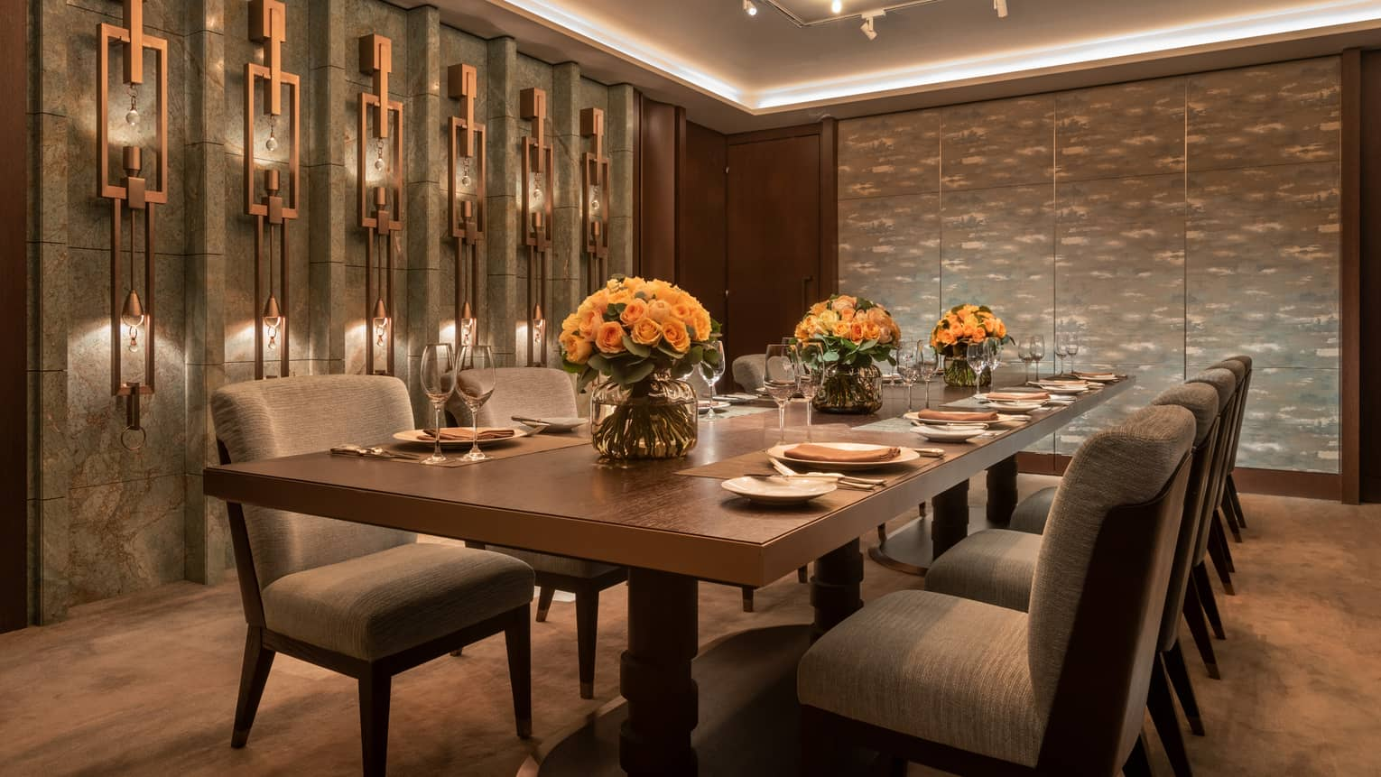 Private Dining at four seasons hotel tokyo