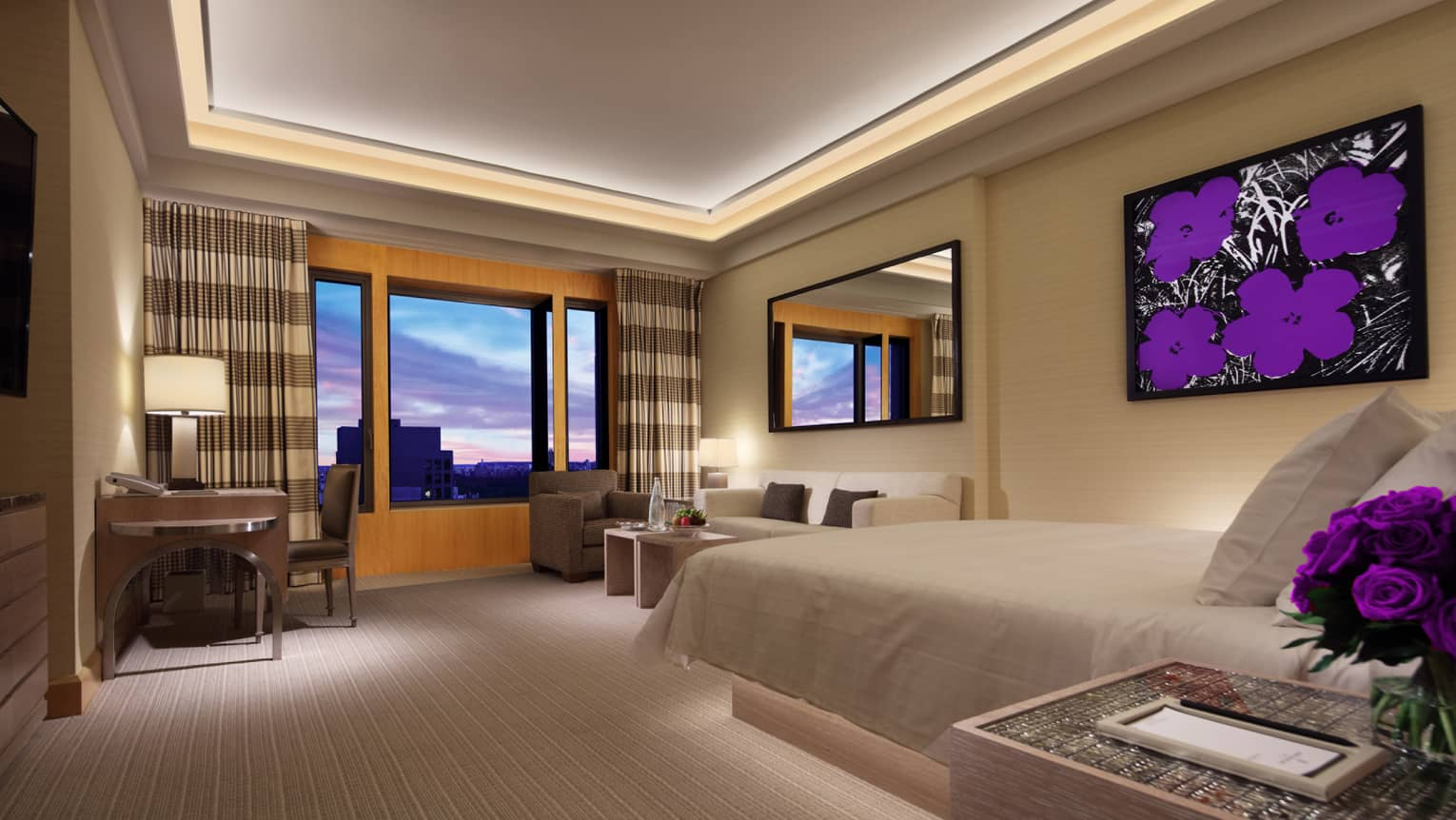 Superb Luxury Hotel Suites Nyc Deluxe Rooms Four Seasons New York Home Interior And Landscaping Mentranervesignezvosmurscom