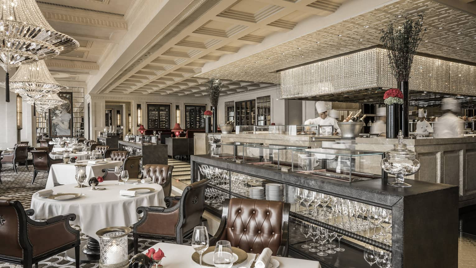 French Restaurant Hong Kong Michelin Star Caprice At Four Seasons