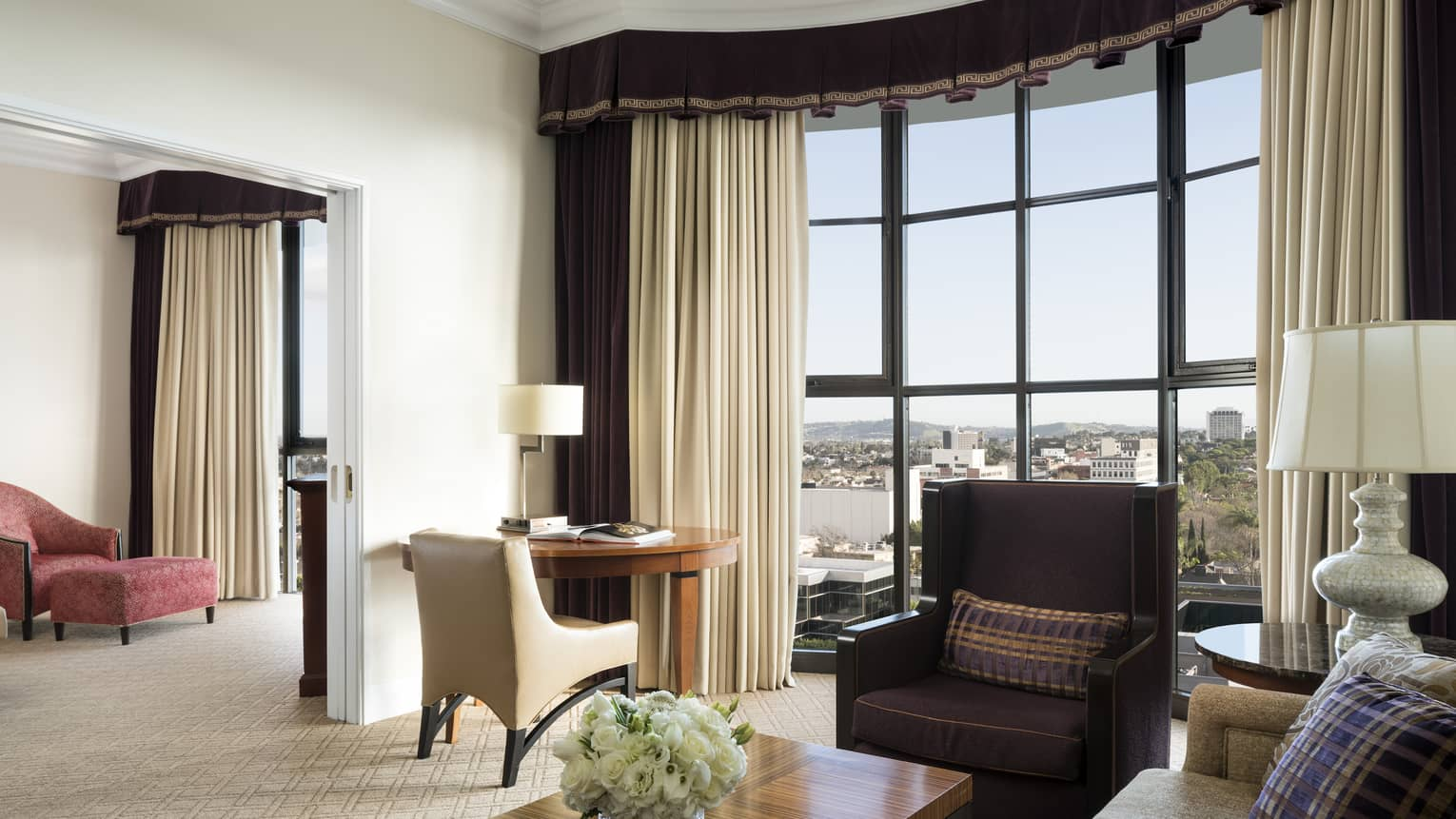 One Bedroom Beverly Suite Beverly Hills Luxury Suite Beverly Wilshire Hotel