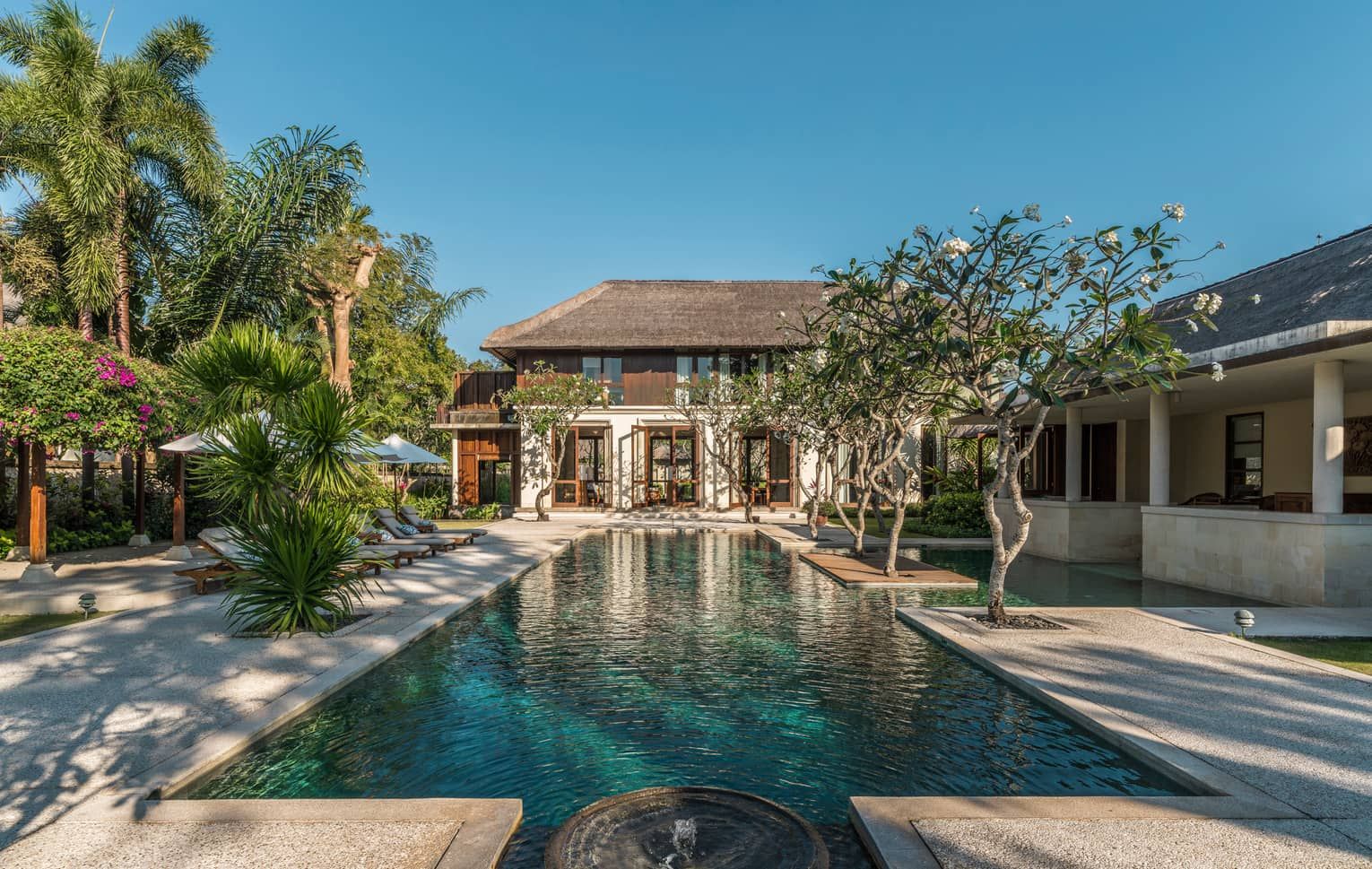 Four-Bedroom Residence Villa pool