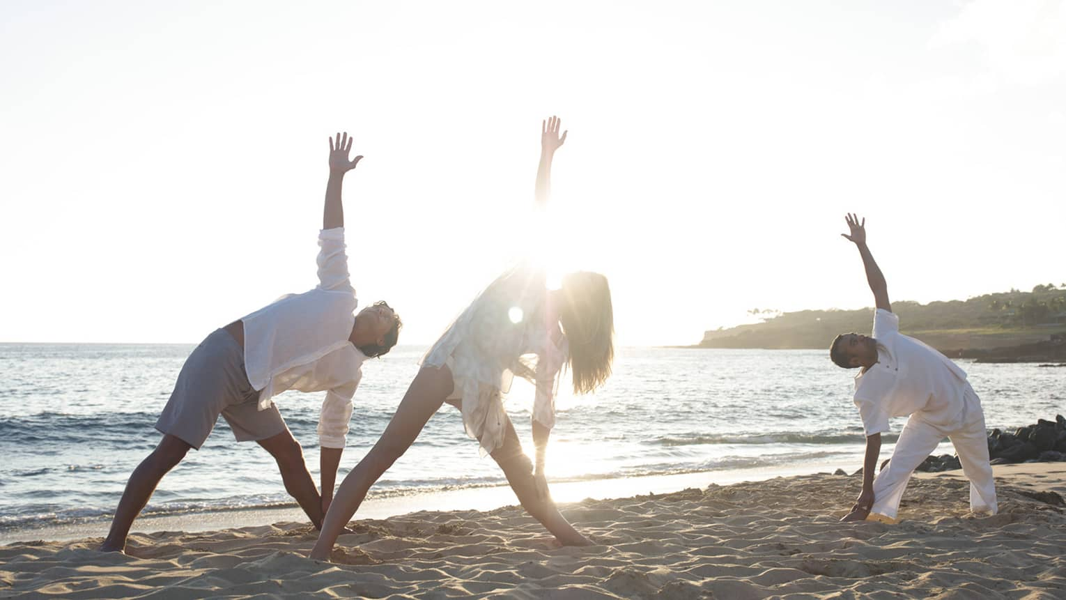 Four Seasons Hotels And Resorts Luxury Hotels Four Seasons Yoga On The Beach