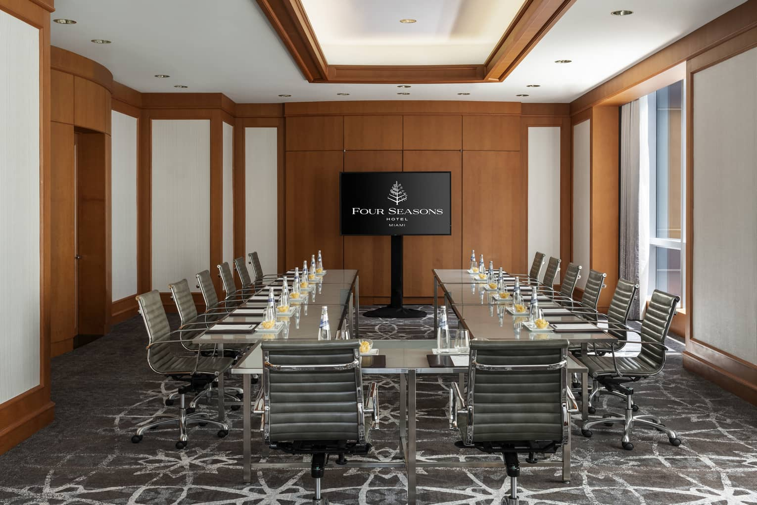 A view of the Key Biscayne Meeting Room