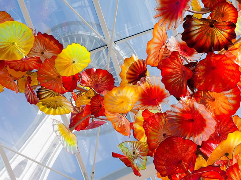 Dinner at Chihuly Garden and Glass