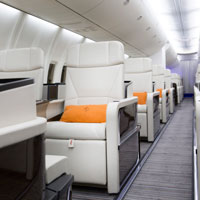 Four Seasons Jet seats