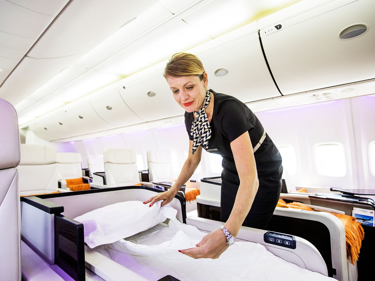 Four Seasons Jet crew member