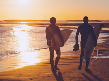 Learn to surf at Bondi Beach